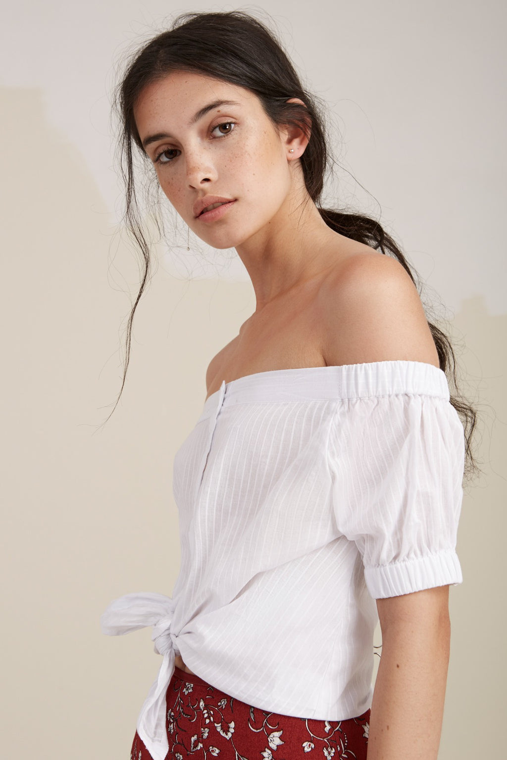 Sun Valley Top in White