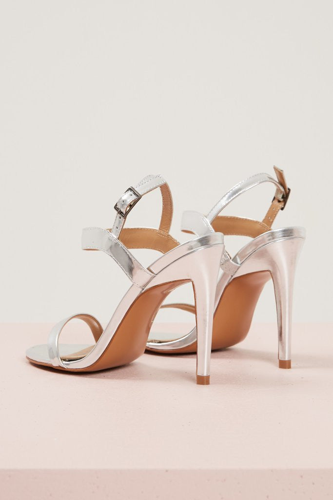 Lane Metallic Heel - Sallyrose