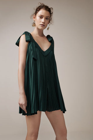 DEEP WATER ROMPER forest green