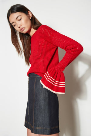 Habitat Knit Red - Sallyrose