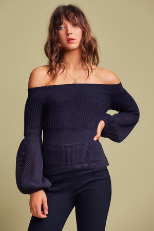 Gravitate Knit Navy