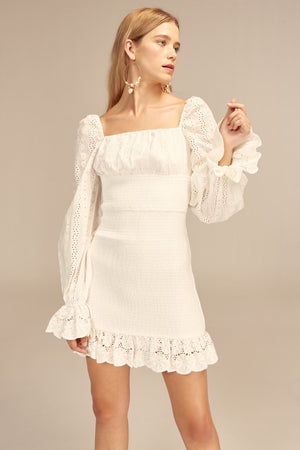 Honeysuckle Dress Ivory