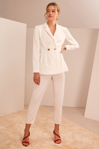 Gone Again Blazer Ivory