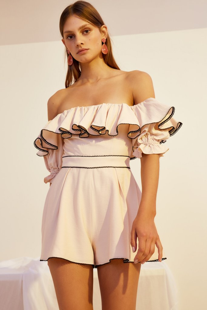 Botanic Playsuit Shell