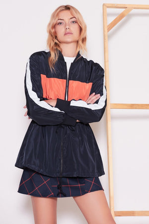Physics Jacket Navy w/ Orange