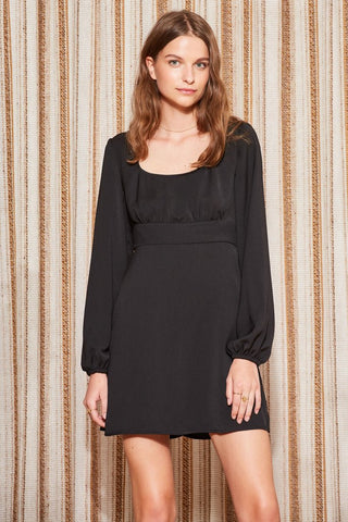 Circuit L/S Dress Black