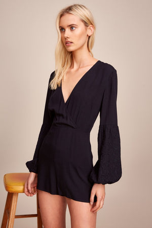 Castor Playsuit Navy