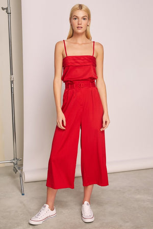 Lotti Pants Red