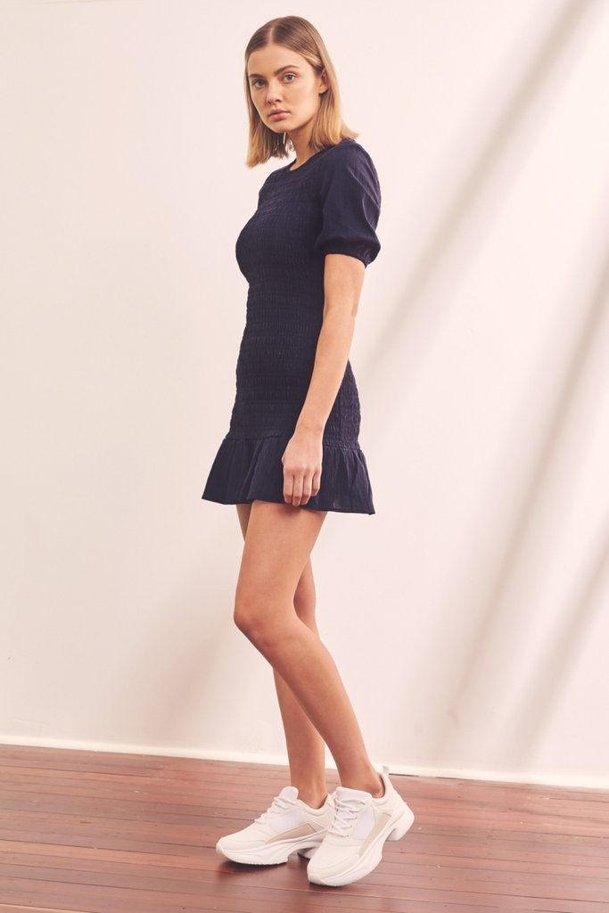 Departure Dress Navy