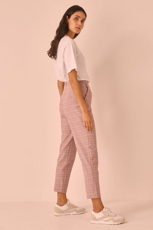 Installation Check Pant Dusty Pink