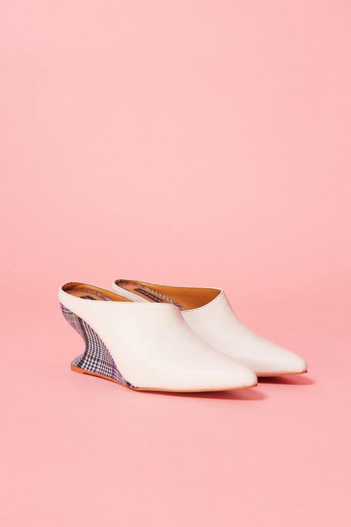 Form Wedge Mule Ivory