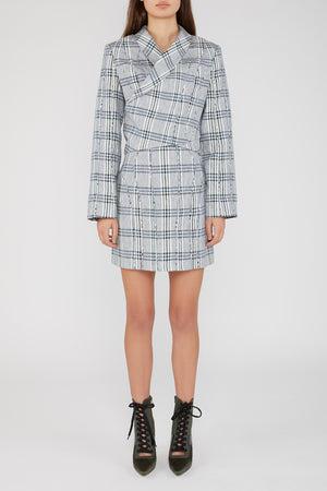 Cullen Blazer Midnight Checker