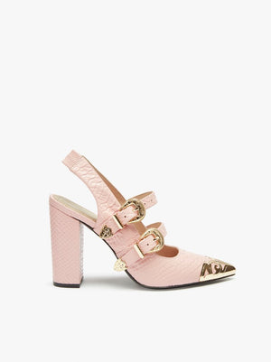 Frankie Pumps Blush
