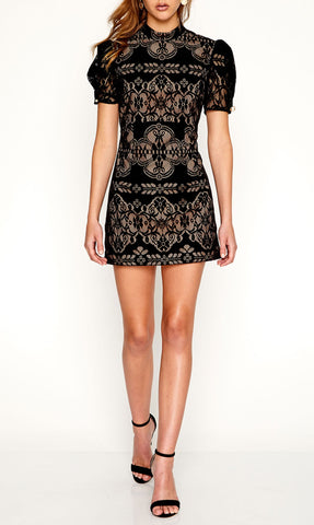 Eyes On Me Dress Black