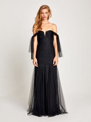 Good Vibes Gown Black