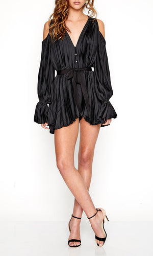 Sunkissed Playsuit Black