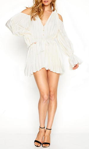 Sunkissed Playsuit Creme
