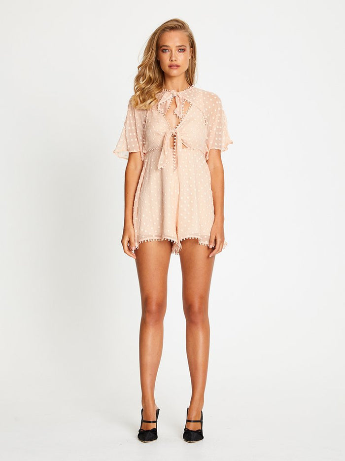 Moon Talking Playsuit Nude