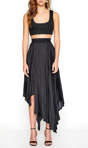 Sway With Me Skirt Black