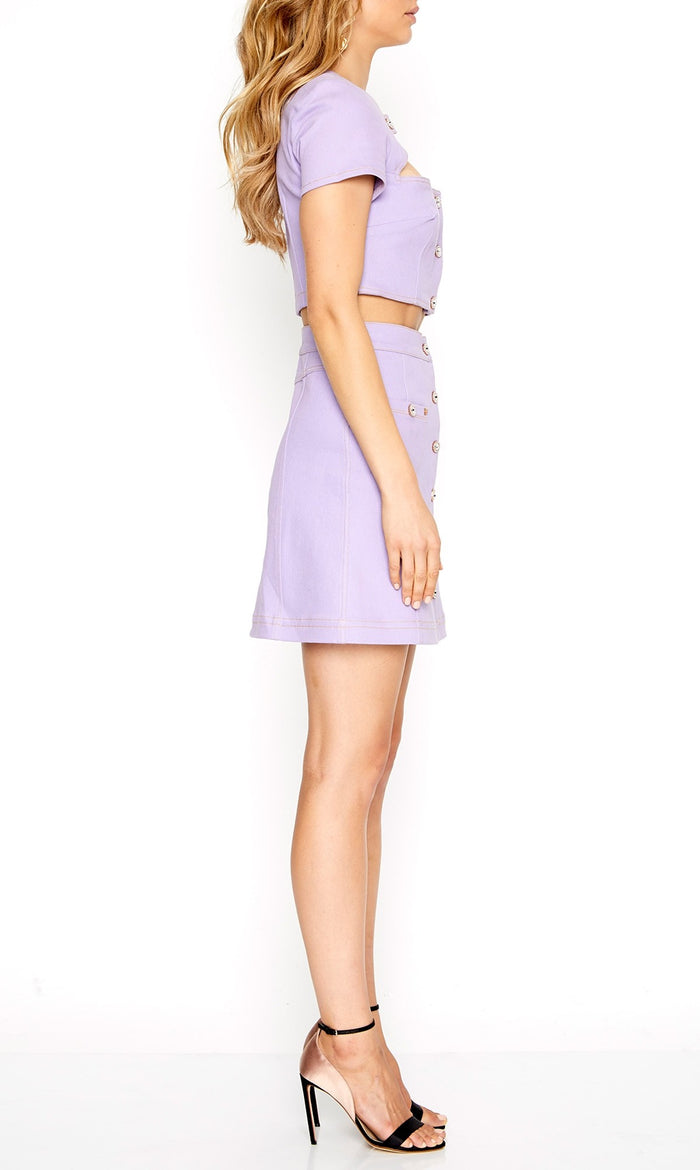 You Go Girl Skirt Lavender