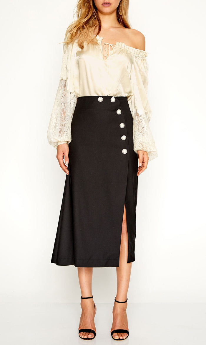 Yuki Skirt Black