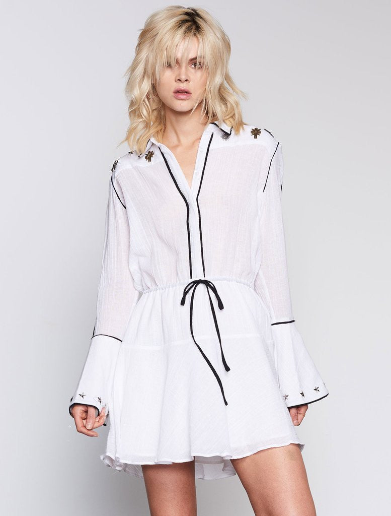 FUTURIST L/S DRESS - Sallyrose