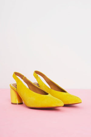 Tempt Curved Heel Ochre