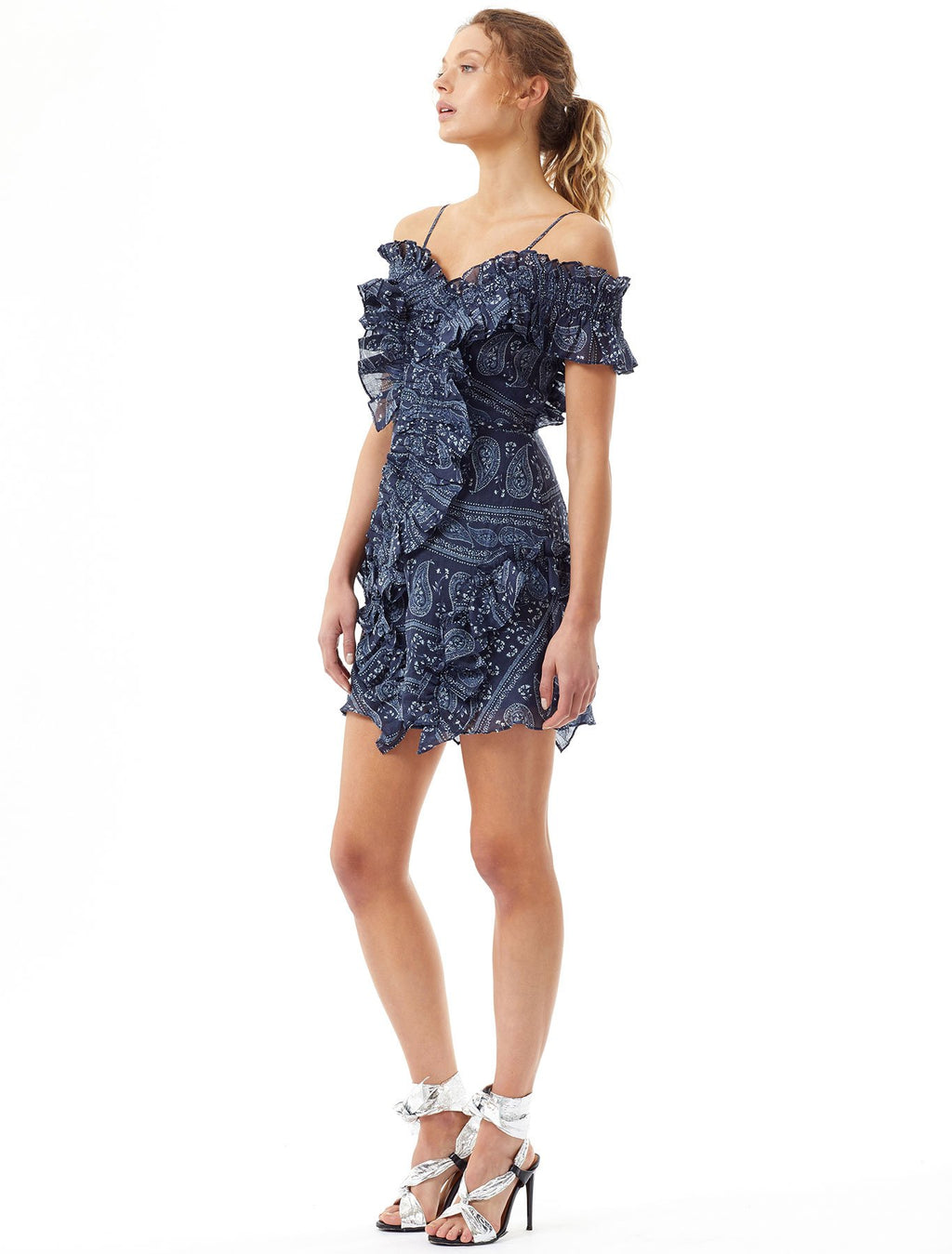 Turn Blue Mini Dress Midnight Blue