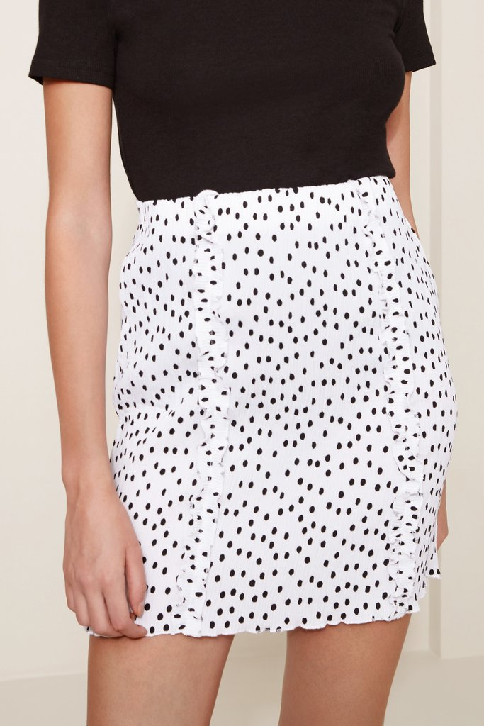 ATLANTA POLKA DOT SKIRT