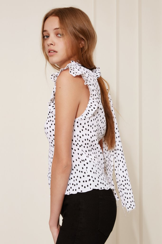 ATLANTA POLKA DOT TOP