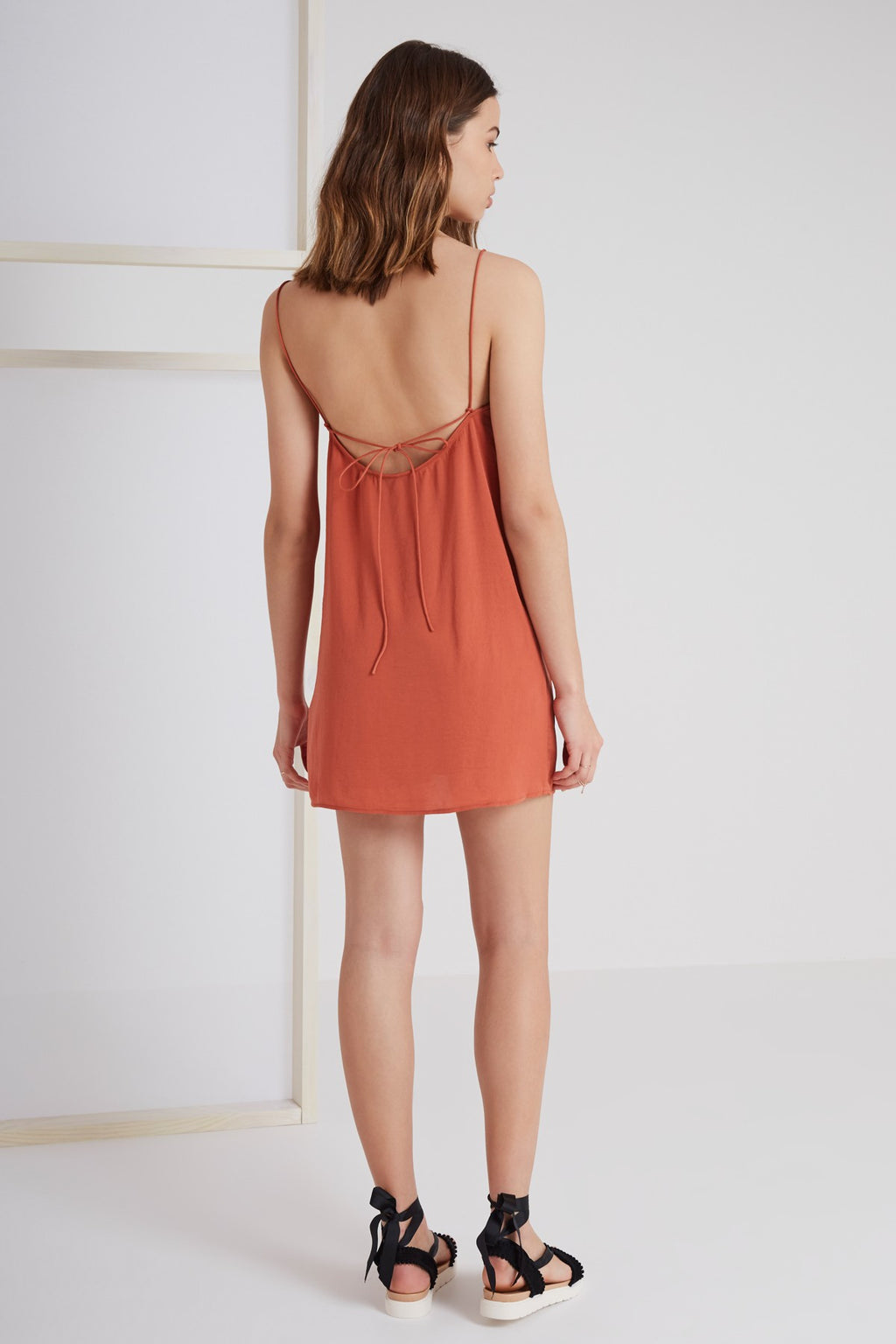 The Nightingale Cami Dress in Copper