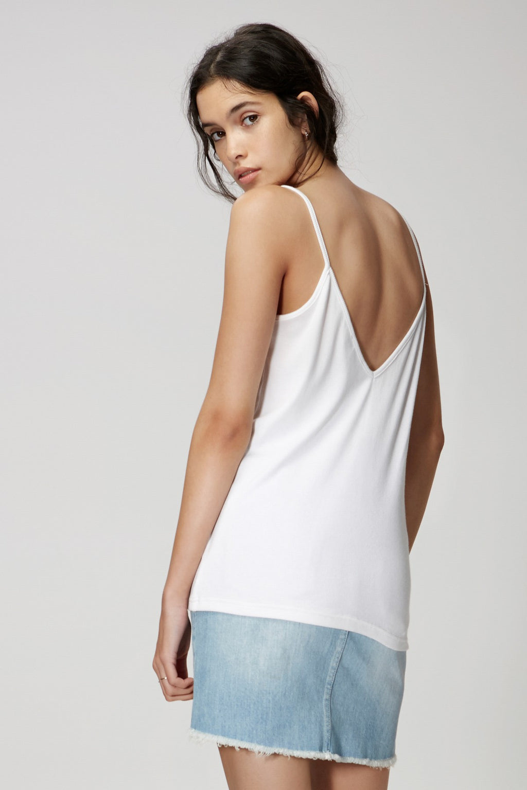 The Wild Side Cami in Ivory