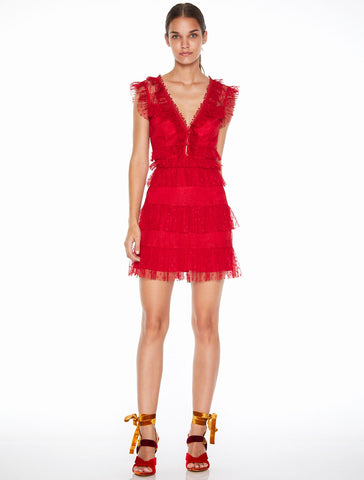 Tango Dreams Mini Dress Tango Red