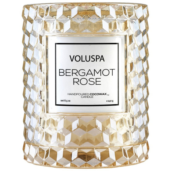Bergamot Rose Icon Cloche Candle