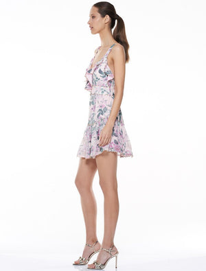 Floral Pleasure Mini Dress - Sallyrose
