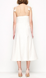 Girls On Film Dress Creme - Sallyrose