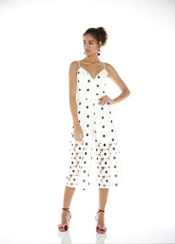 The Icon Jumpsuit White