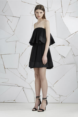 NOT TO BE MINI DRESS-BLACK