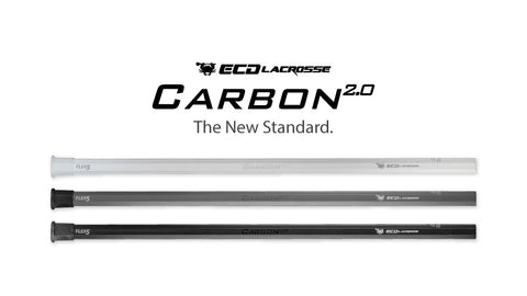 "ECD Carbon 2.0 Lacrosse Shaft 30"" - Legit Lacrosse, Inc."