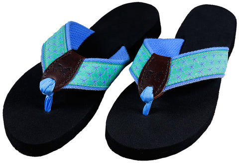 Belted Cow Women's Starfish Jade Sandals