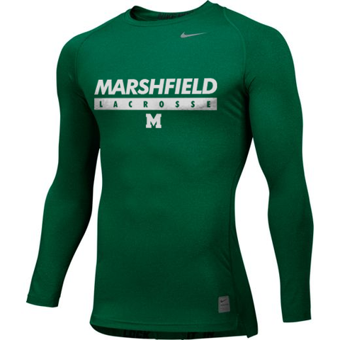 Marshfield Lacrosse Nike Pro Cool Compression Shirt - Legit Lacrosse, Inc.
