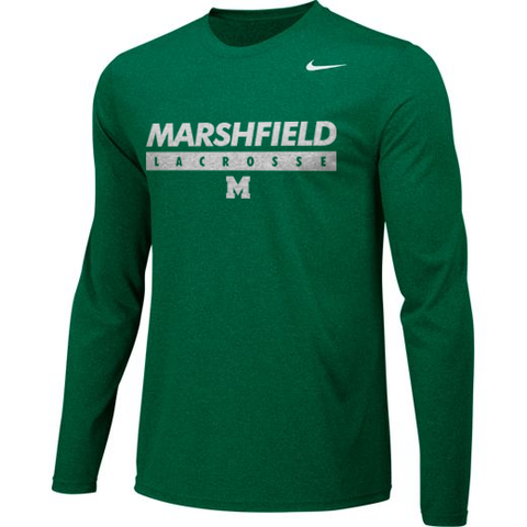 Marshfield Lacrosse Nike Dri-Fit Long Sleeve - Legit Lacrosse, Inc.