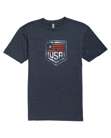 Maverik USA Short Sleeve T Shirt - Legit Lacrosse, Inc.