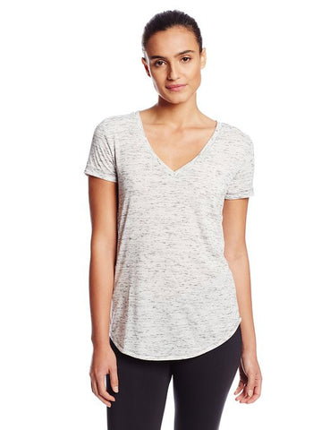 ALO Yoga Deep V-Neck Short-Sleeve Top - Legit Lacrosse, Inc.