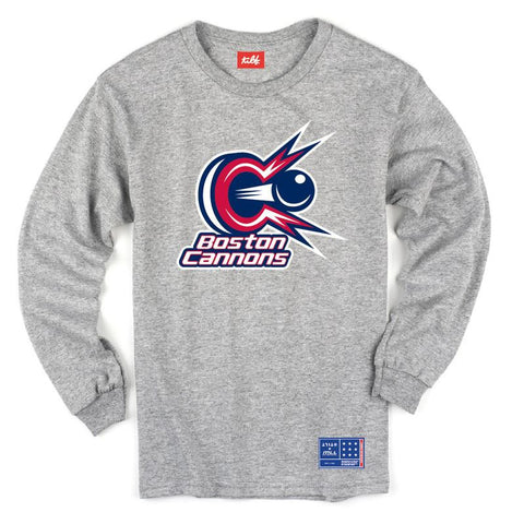 Boston Cannons Tilt Long Sleeve Shirt - Legit Lacrosse, Inc.