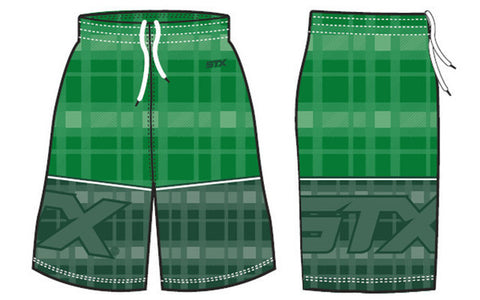 STX Double Plaid Youth Shorts