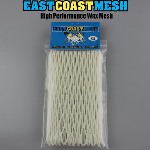 East Coast Dyes ECM Goalie White Mesh - 12D - Legit Lacrosse, Inc.