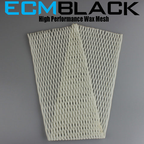 East Coast Dyes ECM Goalie Black Mesh - 20D - Legit Lacrosse, Inc.