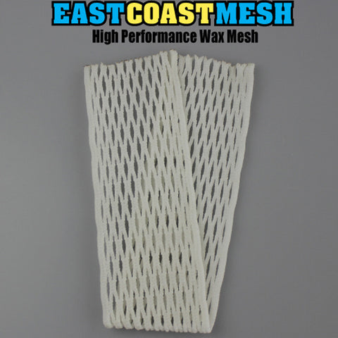 East Coast Dyes ECM White Mesh 15mm - Legit Lacrosse, Inc.