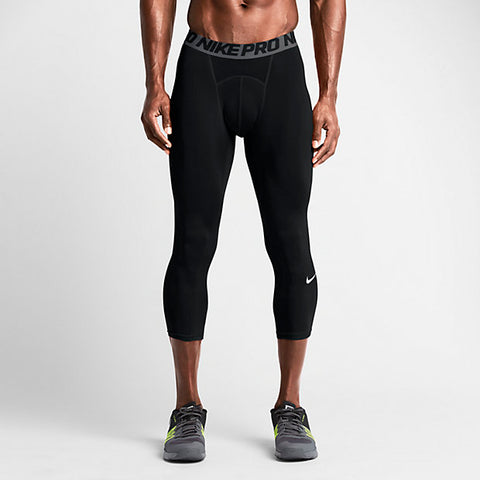Nike Men's Pro Cool 3/4 Length Compression Tights - Legit Lacrosse, Inc.